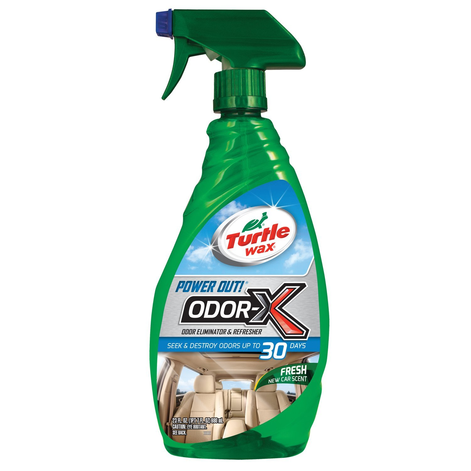 TURTLEWAX 50654 Power Out Odor Spray
