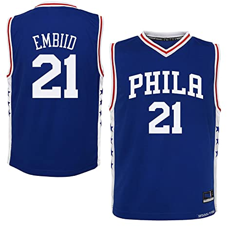 Outerstuff Joel Embiid Philadelphia 76ers Blue Toddler Away Replica Jersey  (2T) d2cc9d71343