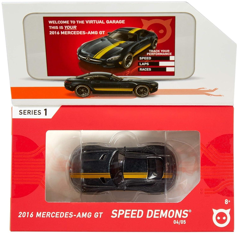 Hot Wheels id FXB15 iD Die-Cast 1:64 2016 Mercedes AMG GT Mehrfarbig