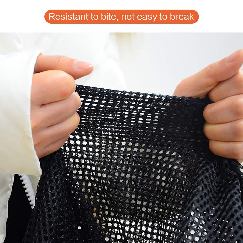 Safe Guard Isolated Gauze Indoor and Outdoor Safety Gate Magic Gate for Dogs Pet Gate Portable Folding Mesh Gate Guard Pet Safety Gate Baby Safety Fence 29.5in*37.4in