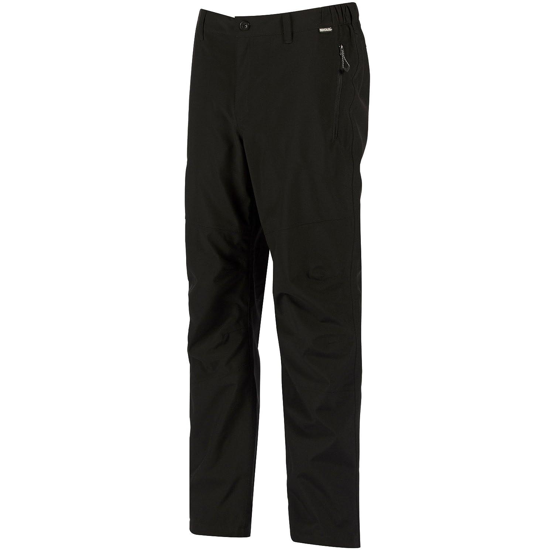 Regatta Mens Black Dayhike Trousers Longer Length