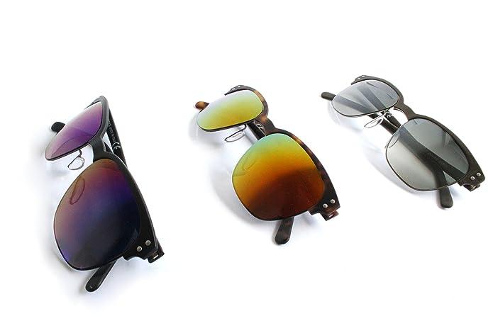 Rocks Eyewear , Ronds mixte adulte - Marron - marron, 53 EU