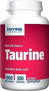 Jarrow Formulas Taurine, Brain & Memory Support, 1000 mg, 100 Caps