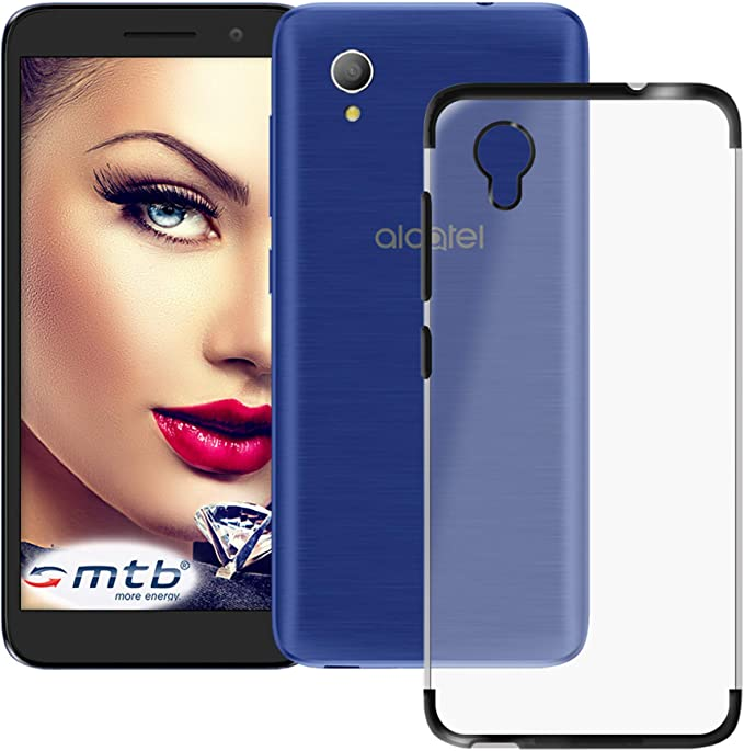 mtb more energy® Funda TPU Elegance para Alcatel 1 (5033D, 5.0 ...