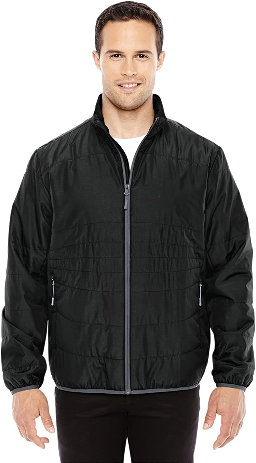 88231 Ash City North End Resolve Interactive Insulated Packable Jacket -BLCK// GRPHTE -3XL