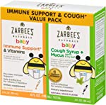 Zarbee's Naturals Baby Immune Support* & Vitamins & Baby Cough Syrup