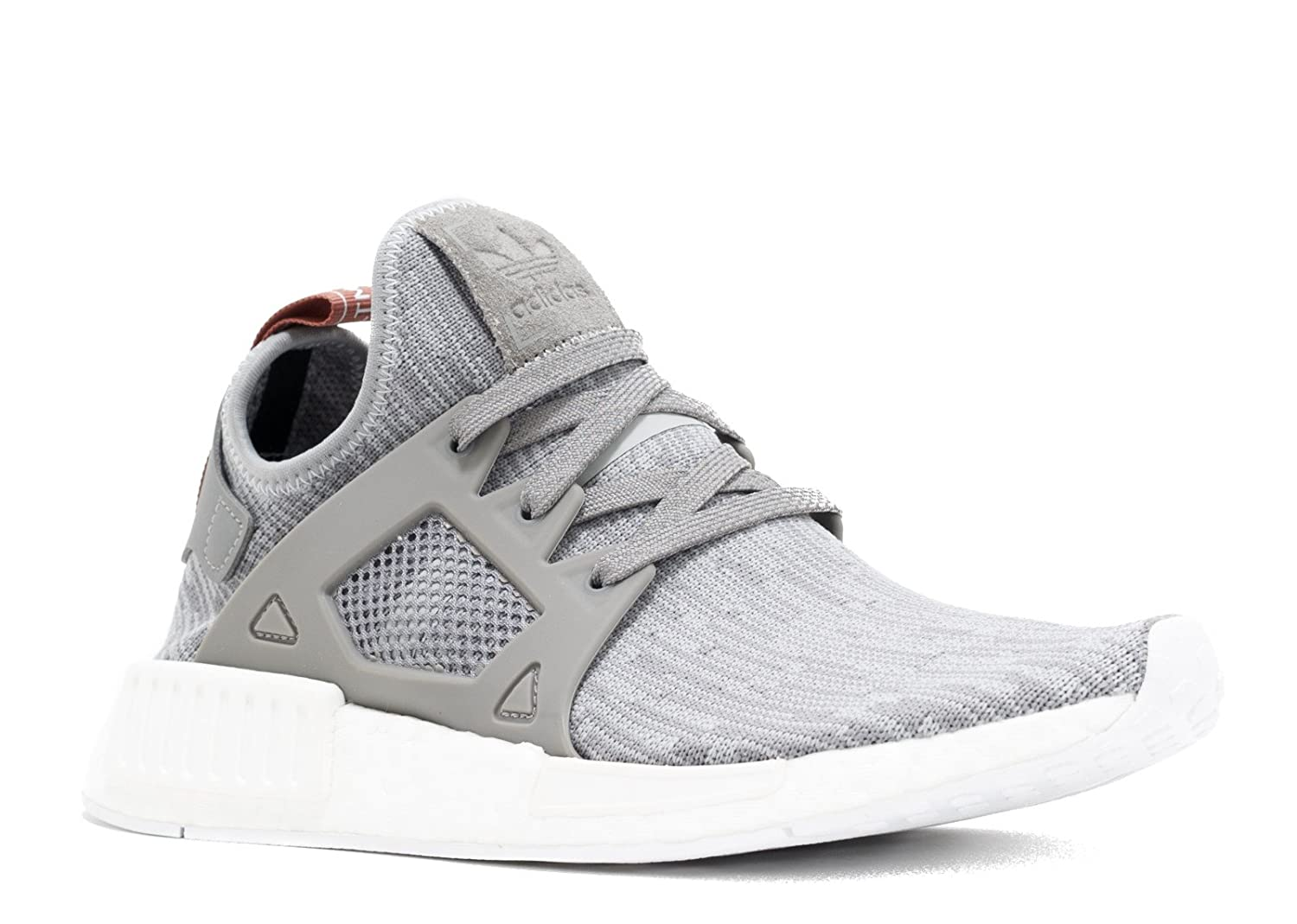 finest selection 96ba6 66e94 Adidas Womens NMD XR1 Prime Knit (6.5, Clear Onix/ Pink)