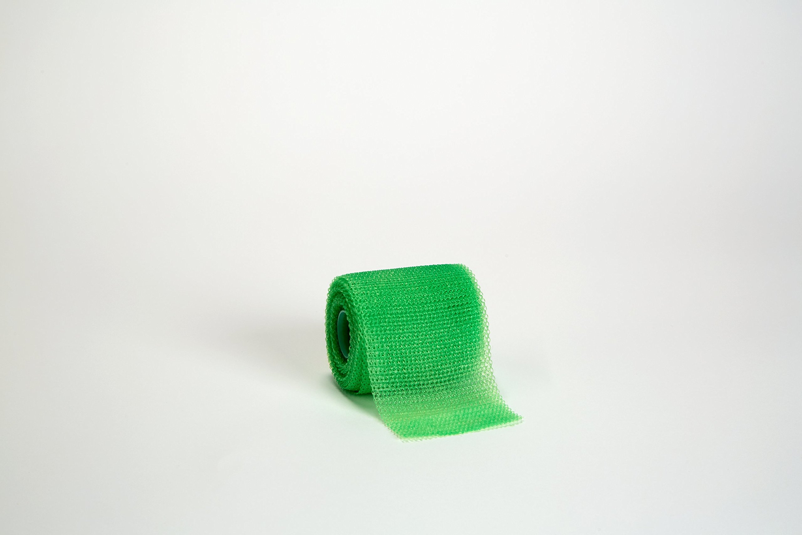 3M Scotchcast 82002V Plus Casting Tape, Bright Green 2'' x 4 Yard (Pack of 10)