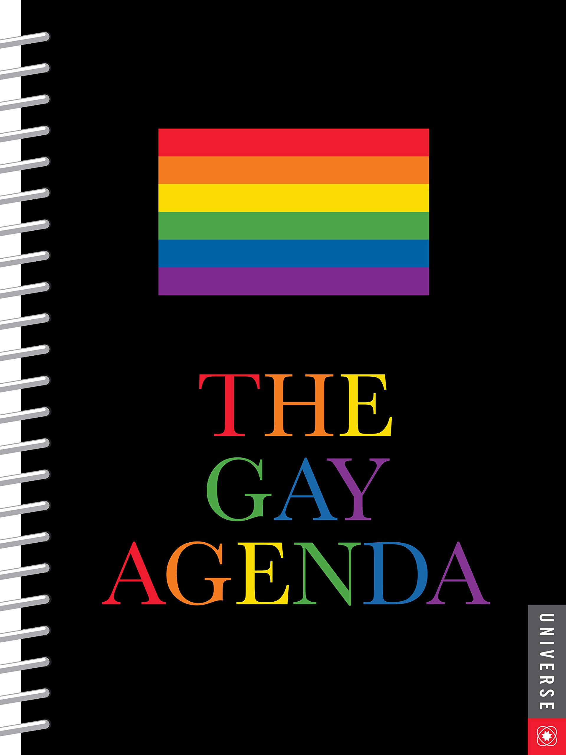The Gay Agenda Undated Calendar: Amazon.es: Universe ...