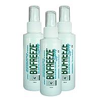 Biofreeze 4oz Spray **3 PACK DEAL**