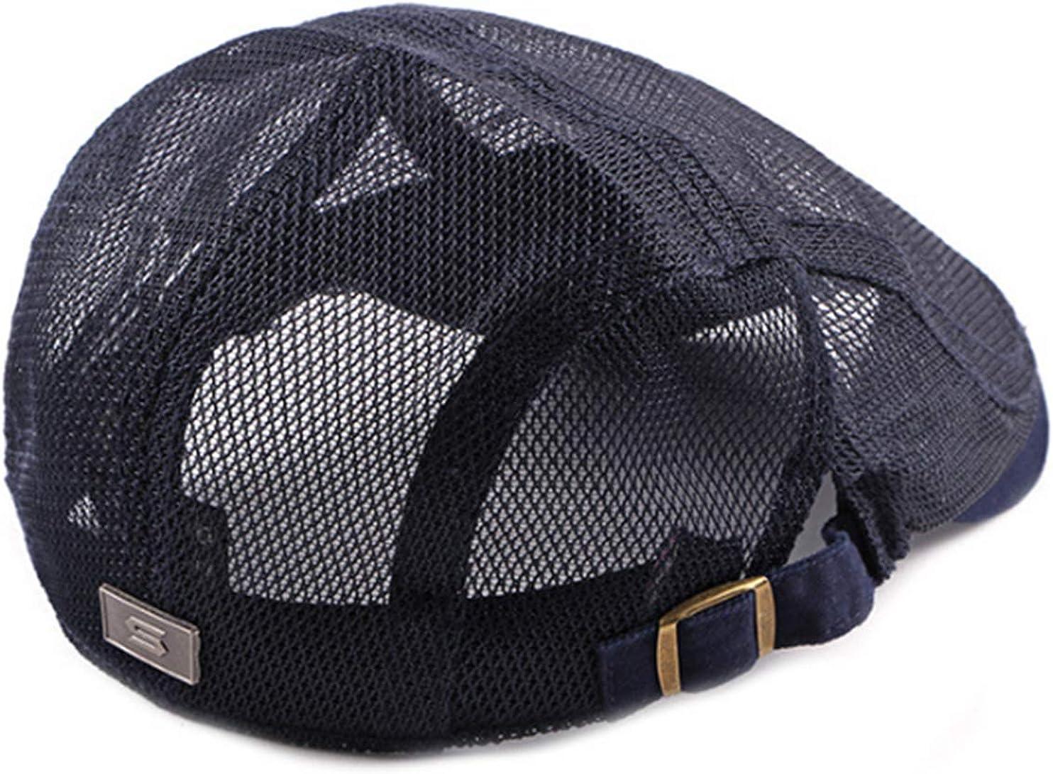 DecStore Uomo Maglia Cappuccio Berretti Edera Cappelli Guida Cappelli Estate Vintage Hat