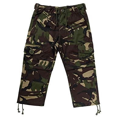 995e834ab6 Kids Army Camouflage Combat Trousers - Ages 3-13 Yrs - Camo Combats: Amazon. co.uk: Clothing