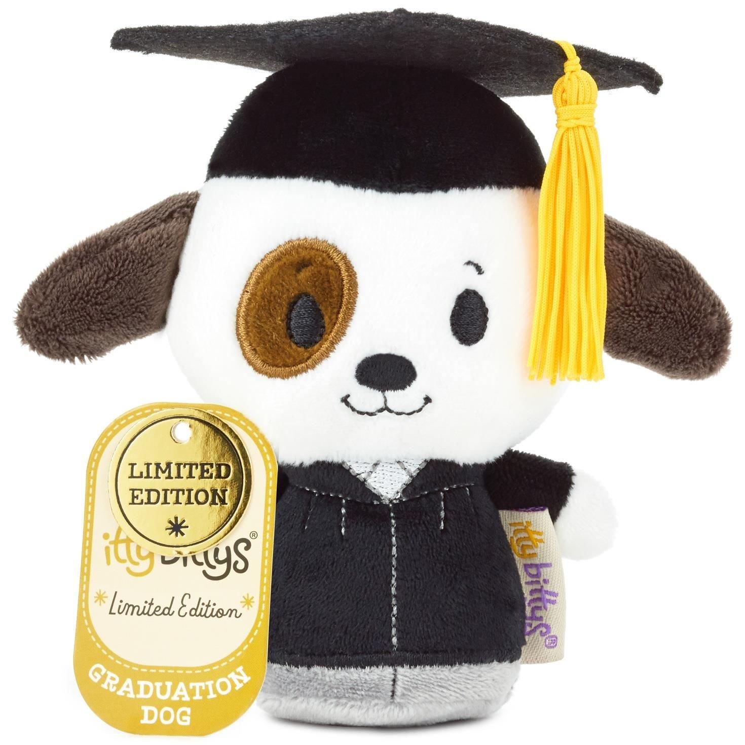 Amazon.com: itty bittys Graduation Dog Stuffed Animal Itty Bittys ...
