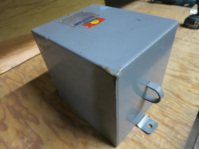 Square D 10 Kva 600 120 240 V 10s4f 1ph Transformer 10kva 12559 Qo120gficp 20amp 1pole Gfci Circuit Breaker 12425 010 600v Industrial Scientific