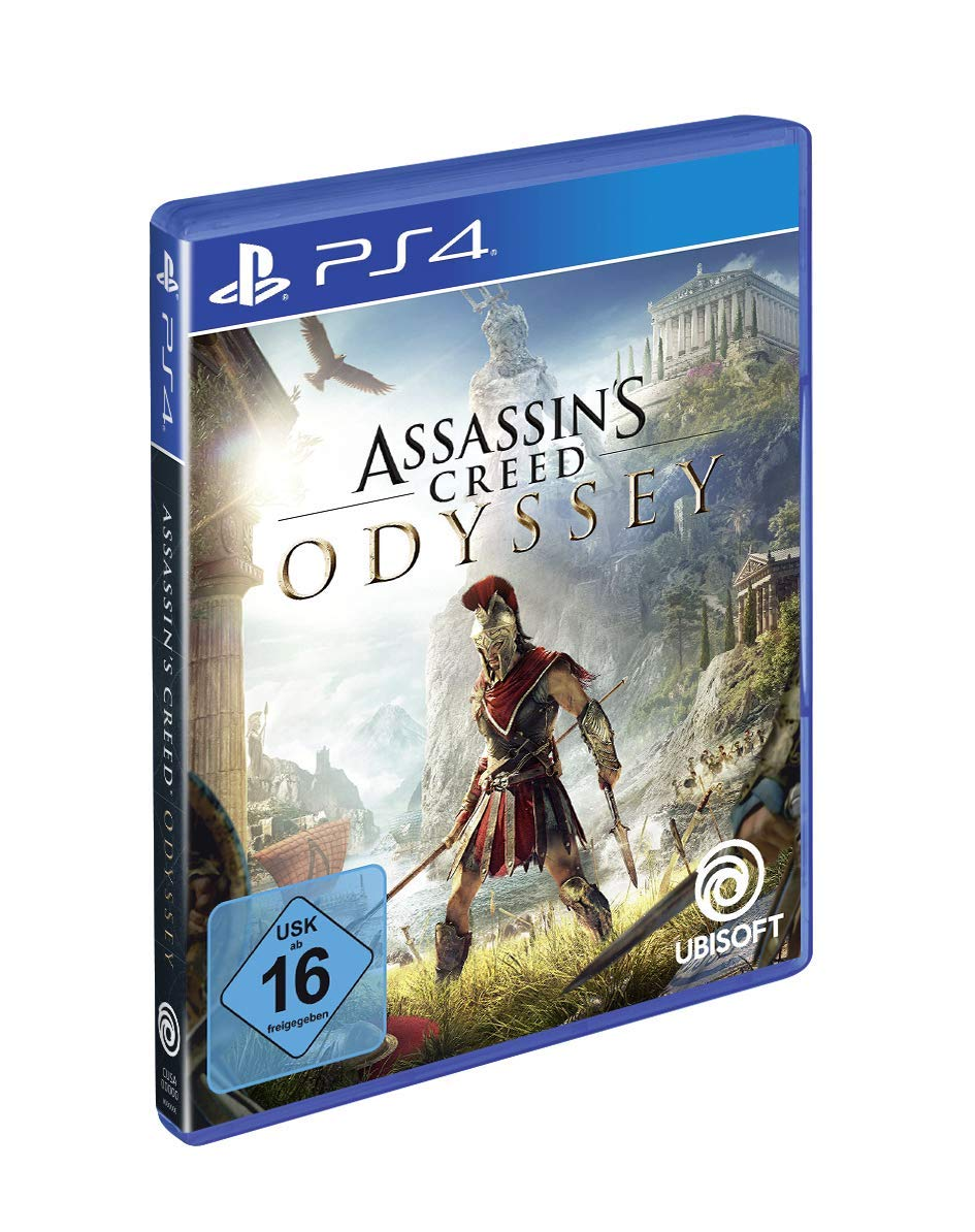 Assassin s Creed Odyssey - Standard Edition -  PlayStation 4   Amazon.de   Games fc7a0d24297