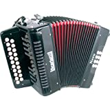 Scarlatti Nero D/G Melodeon Accordion
