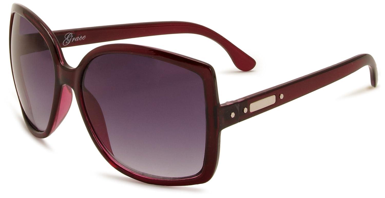 d92fd89b1bad M :UK MUK137812 Oversized Women's Sunglasses Pink One Size: Amazon.co.uk:  Clothing
