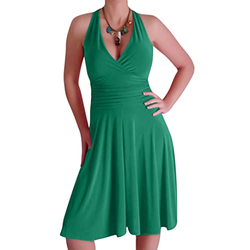 Eyecatch - Nicole Halter Neck Dress