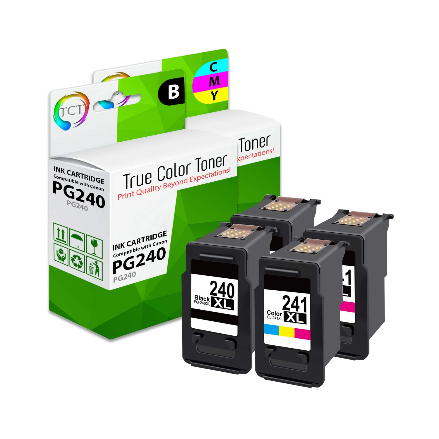 PG-240XL /& CL-241XL for Canon Ink Pixma MG3120 MX372 MX479 MG3220 MG3620 MG2120