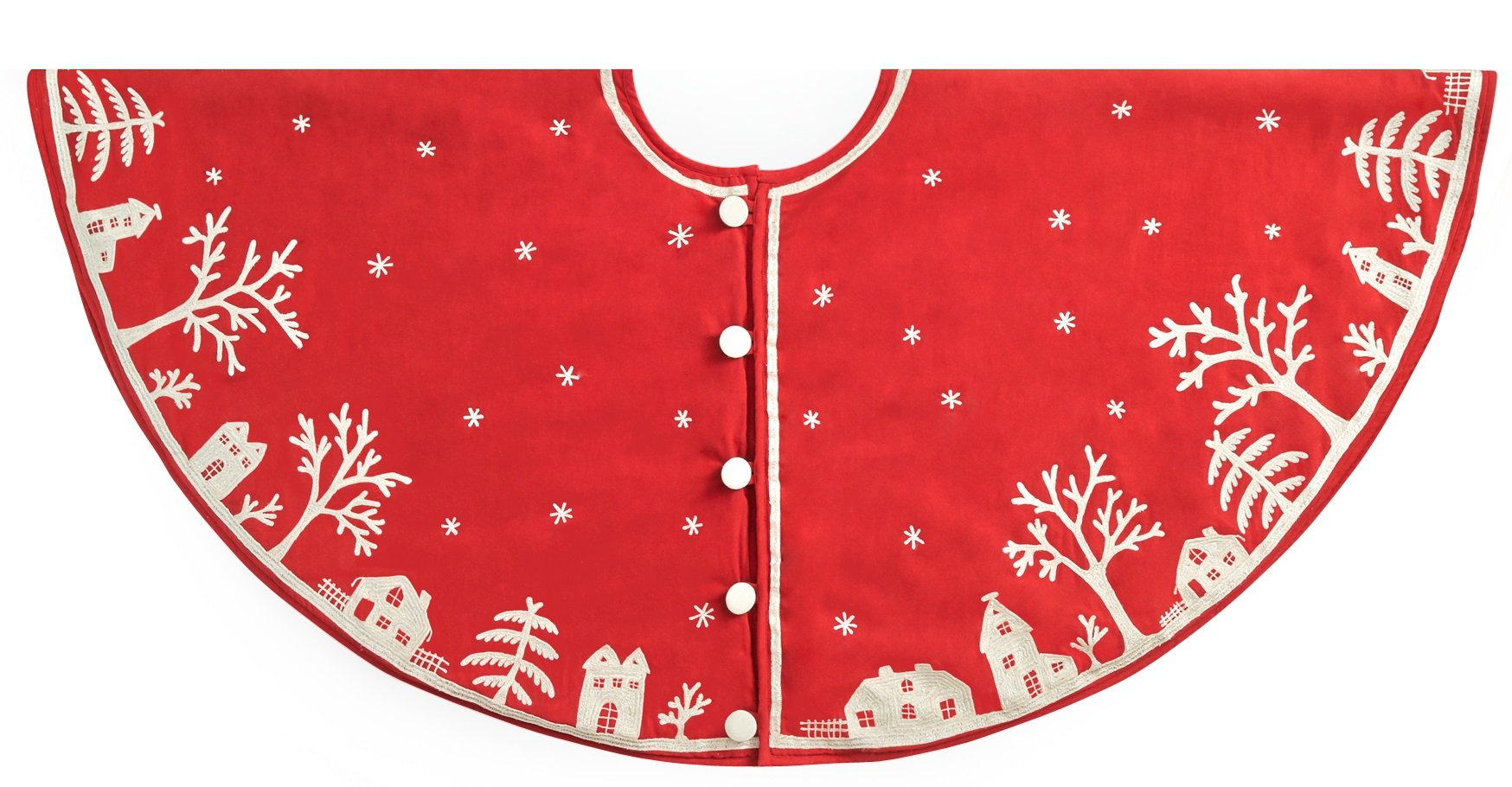 Arcadia Home Snowy Village Tree Skirt by Arcadia Home (Image #1)