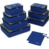 Packing Cubes 3/5/9er Set, Gonex Koffer Organizers Kleidertaschen Set