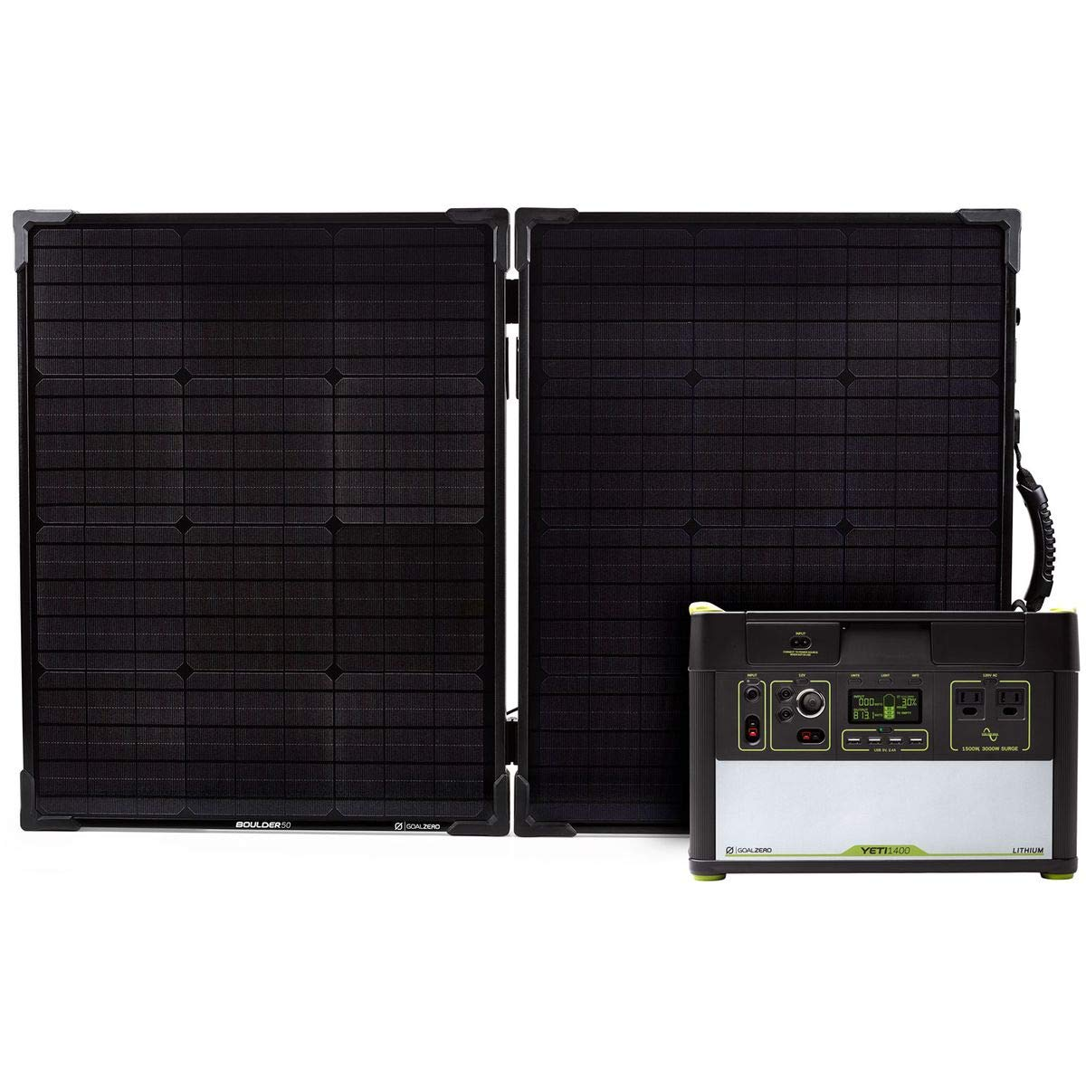 Goal Zero Yeti 1400 Lithium V2 Solar Kit One Color,