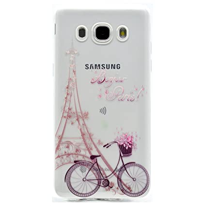 Funda para Samsung Galaxy J5 2016 (J510),Carcasas Flexible TPU Silicona Transparente Ultra Fina Ultra Ligero Gel Shock-Absorción,Anti-Arañazos y ...