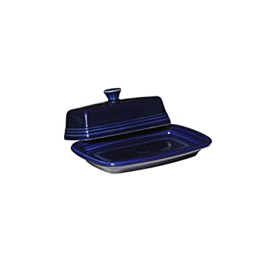 Fiesta Covered Butter Dish, X-Large, Cobalt