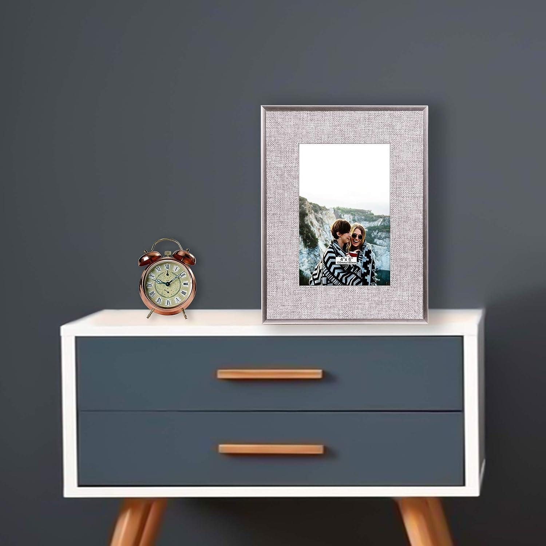 Vintage Mesa y Hogar Marco de Cuadros de Blanco Navidad Cumplea/ños Regalos para Boda TERESAS COLLECTIONS Marcos de Foto de Madera 10x15cm Graduaci/ón Decoraci/ón de Pared Colgar