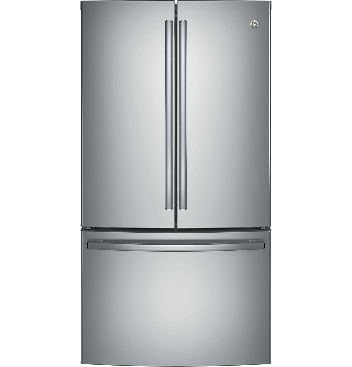 GE GNE29GSKSS 28.5 Cu. Ft. Stainless Steel French Door Refrigerator - Energy Star