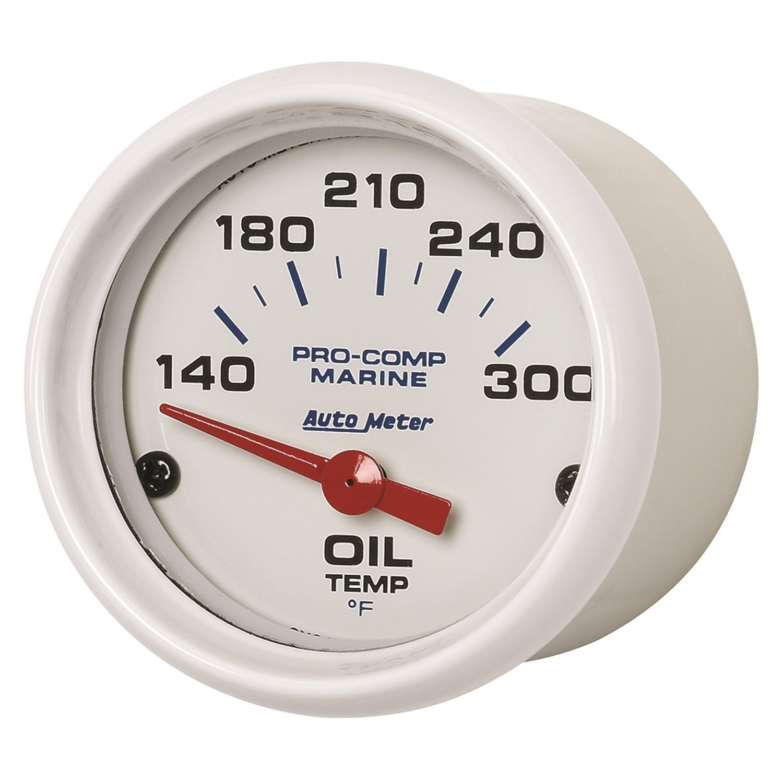 Marine Silver 2 5//8 Auto Meter AutoMeter 200763-33 Ultra-Lite Gauge Water Temp Electric 100-250/ºf