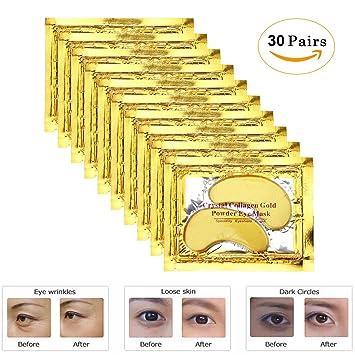 Review Genuva Gold Eye Mask