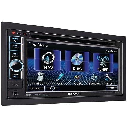 amazon com kenwood ddx318 6 1 double din dvd receiver car electronics rh amazon com Navigation Kenwood DDX 318 Kenwood USB Mount Accessories