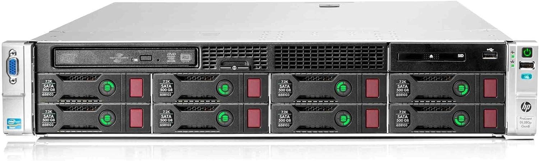 HP Proliant DL380p G8 Server | 2X E5-2670 2.60GHz | 64GB | P420 | 4X New 250GB SSD (Renewed)