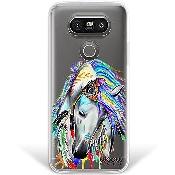 WoowCase Funda LG G5, [Hybrid] Caballo Indio Colección ...