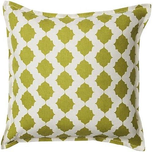 Pehr Designs Tile Pillow, Citron