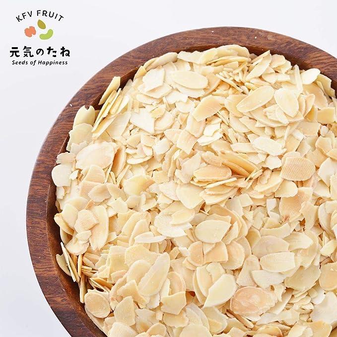 アーモンド スライス 素焼き ナッツ 無塩 無添加 500g