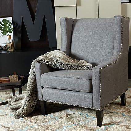 Admirable Amazon Com Tangon Modern Minimalist Single Sofa Upholstered Ibusinesslaw Wood Chair Design Ideas Ibusinesslaworg