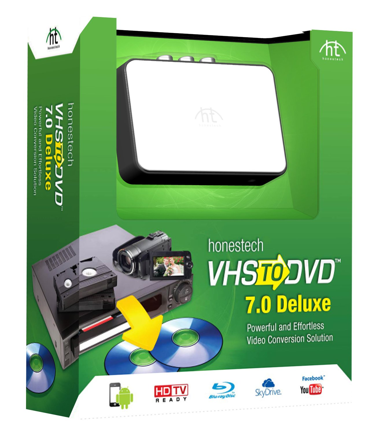 VHS to DVD 7.0 Deluxe by Honestech