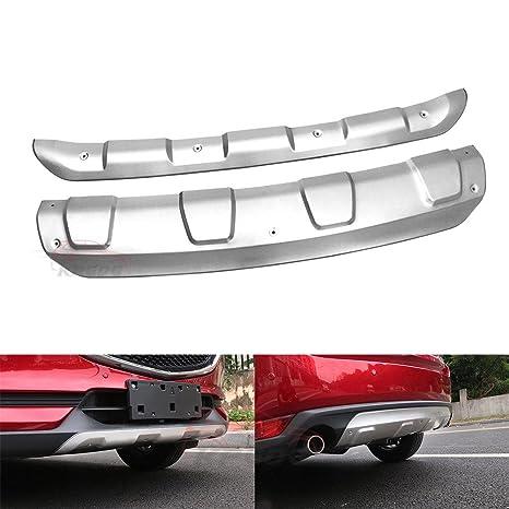 Fit para todos los nuevos Mazda CX5 CX-5 2017 2018 frontal de acero inoxidable