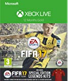 Xbox LIVE 12 Month Gold Membership + FIFA 17 Special Edition Legends Kits DLC  [Xbox Live Online Code]