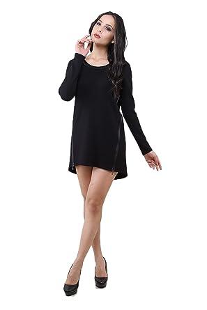 9fd746fa3880f 3020 Dodona Fermuarlı Beyaz Şık Abiye Gece Kışlık Elbise: Amazon.com ...