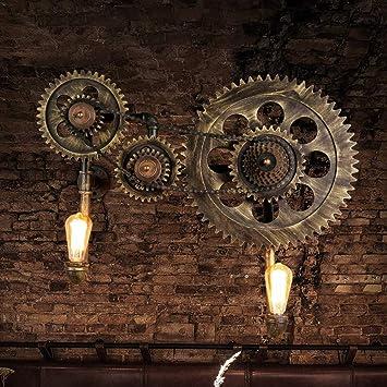 Wapipey Applique Murale Vintage Industriel Loft Steampunk Créative