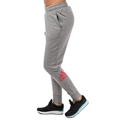 619f5d5f940b adidas Womens Womens Kinesics Sweat Pants in Grey Marl - 20-22  adidas   Amazon.co.uk  Clothing