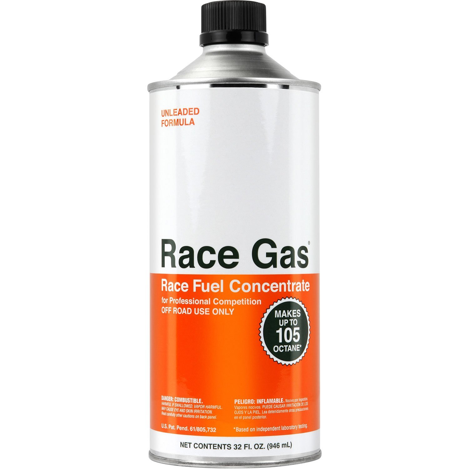 RACE-GAS 100032 Race Fuel Concentrate 100 to 105 Octane