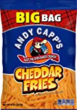 Andy Capp's Big Bag Fries, Cheddar, 8-Ounce (Pack of 8)