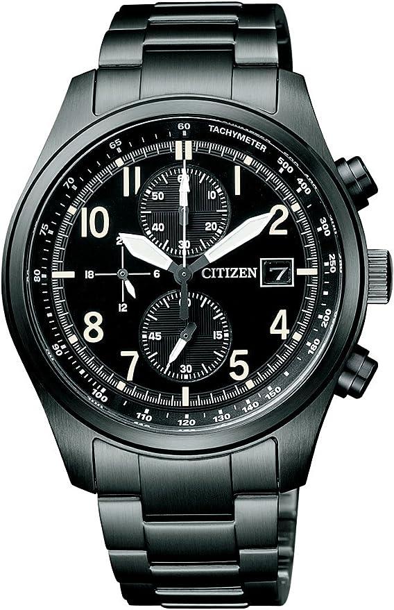 [シチズン]CITIZEN 腕時計 Citizen Collection シチズン コレクション Eco-Drive エコ・ドライブ クロノグラフ ミリタリーモデル CA0244-59E メンズ