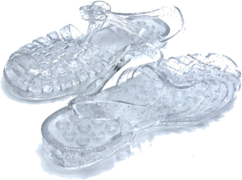 Vesto Toddler Girls Fisherman Jelly Sandals with Glitter