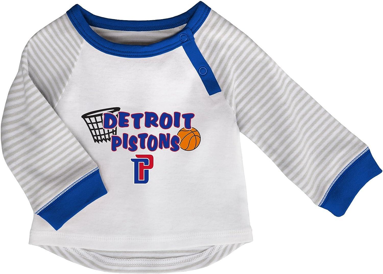 NBA by Outerstuff NBA Newborn NBA Newborn Scrimage 2 Piece Tee and Pant Set