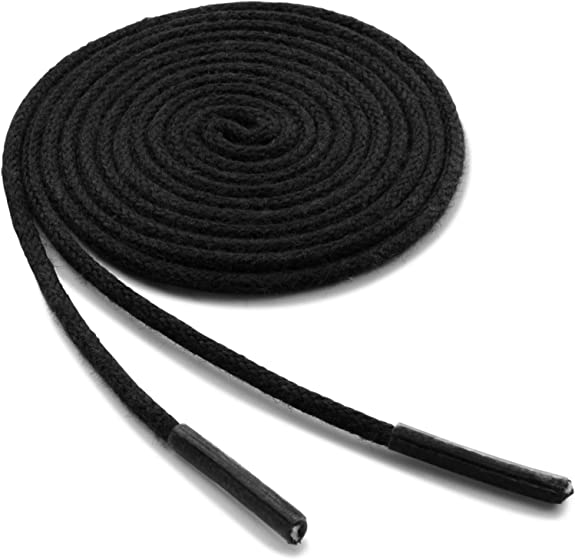 Round Strings Waxed Cord Shoe Sport Shoelaces Dress Boot Shoes Laces#Q